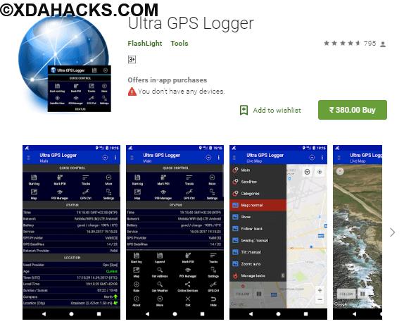 Ultra GPS Logger v3.146d [Patched].apk