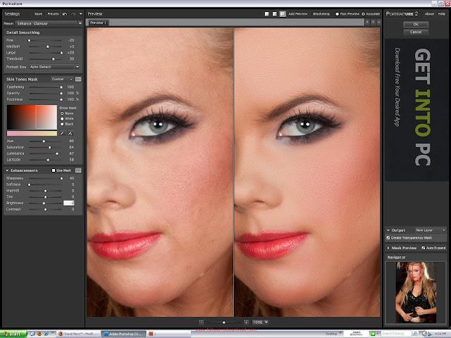 Link tải phần mềm làm mịn da Portraiture v2.3.4