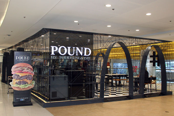 Pound by Todd English SM Megamall Mega Fashion Hall