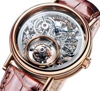 tidak seperti saat tourbillon pertama kali dibuat dan diaplikasikan pada jam kantong sebuah tangan selalu diekspos keberadaannya