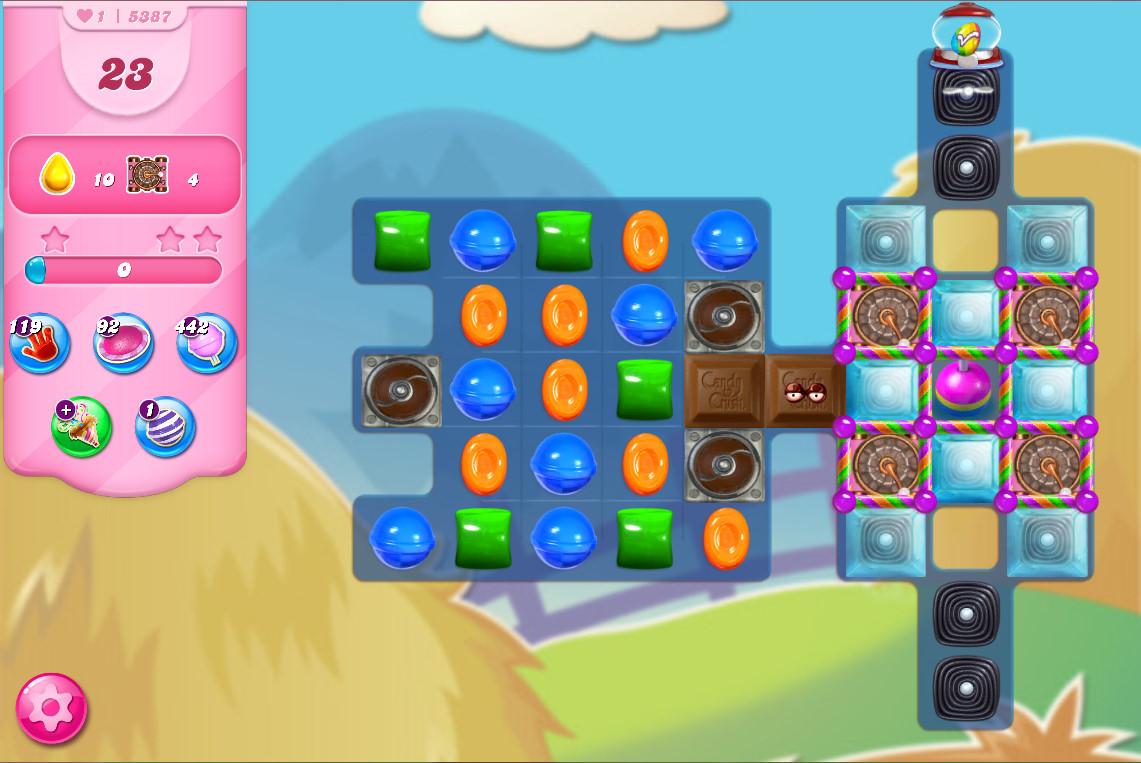 Candy Crush Saga level 5387