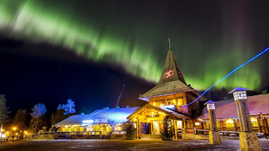 Travel Experiences in Lapland at Christmas in the Santa Claus Village