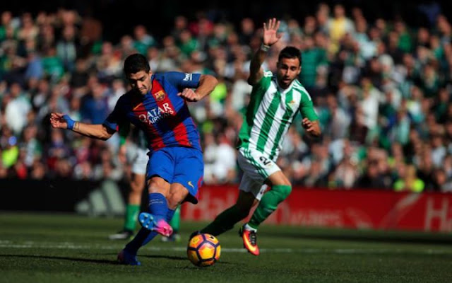 Real Betis 1-1 Barcelona - All Goals & Highlights