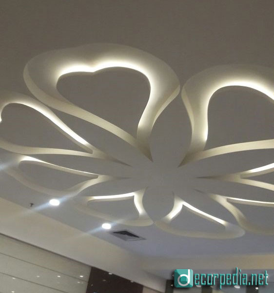 latest false ceiling design, modern false ceiling ideas with led lights, gypsum ceiling