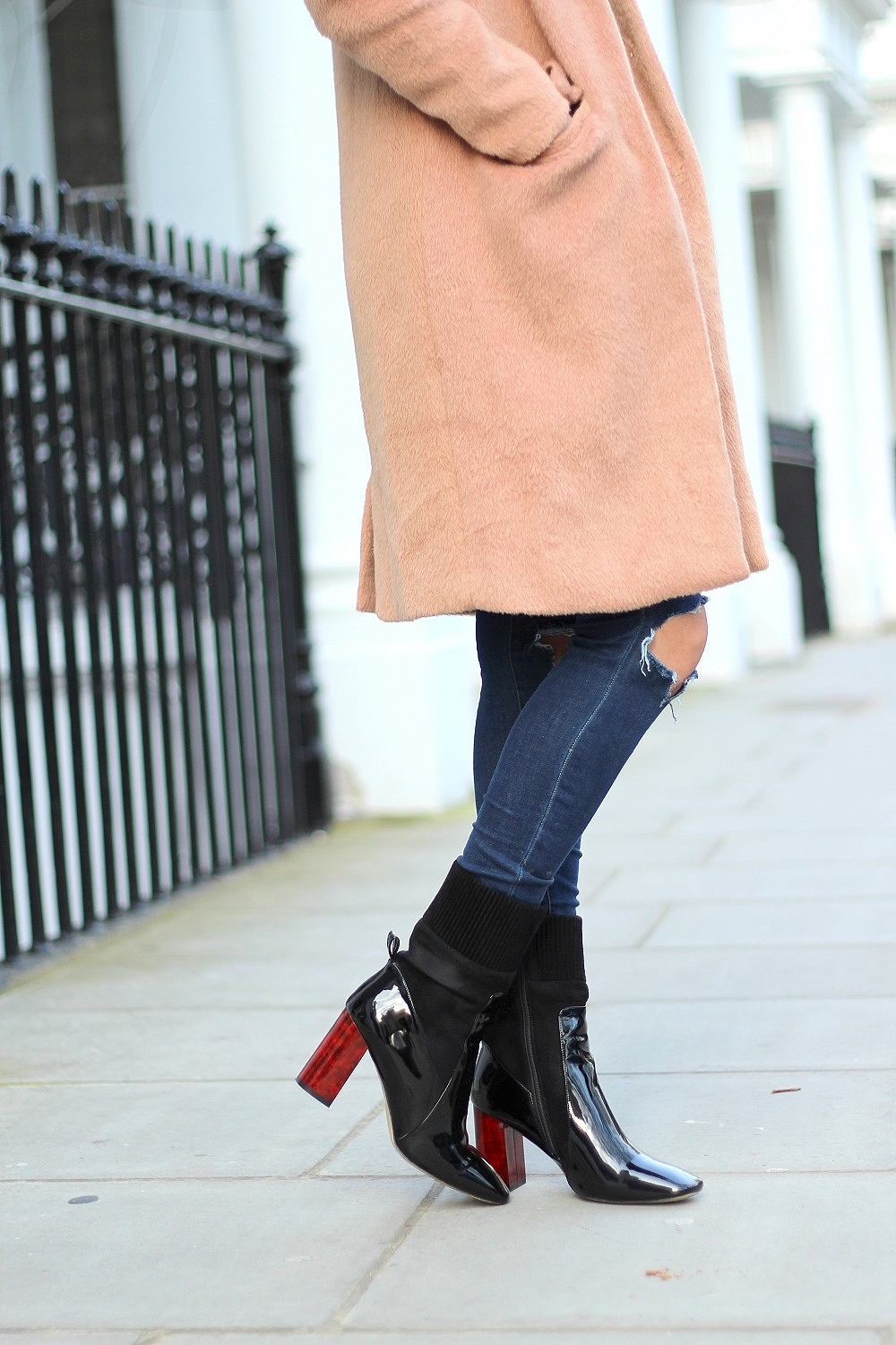 ankle boots casual style