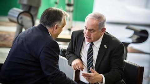 Orbán Netanjahuval is tárgyalt Brazíliában