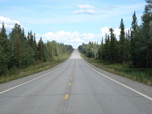 Alaska Highwaya, Canada