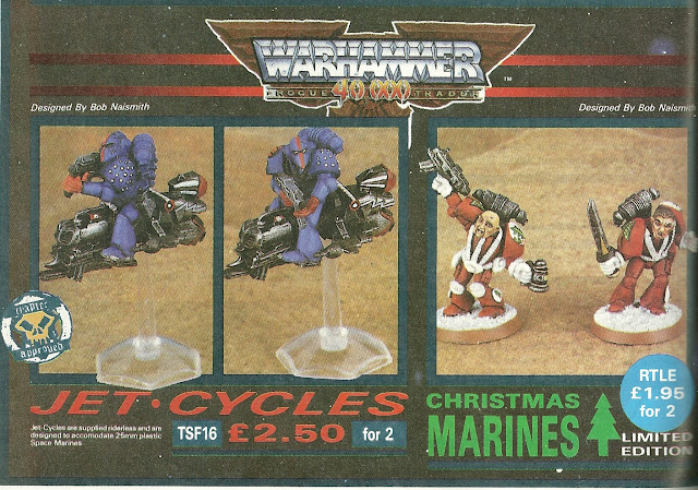 Christmas Space Marines