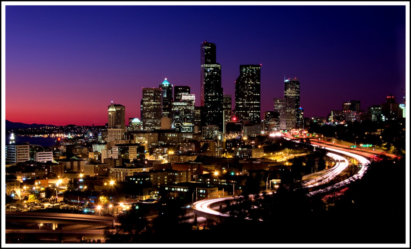 Seattle Skyline Wallpaper This Wallpapers