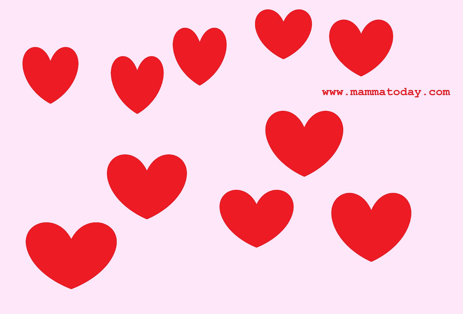 Disegni Di San Valentino Da Stampare E Colorare Per Bambini Mamma