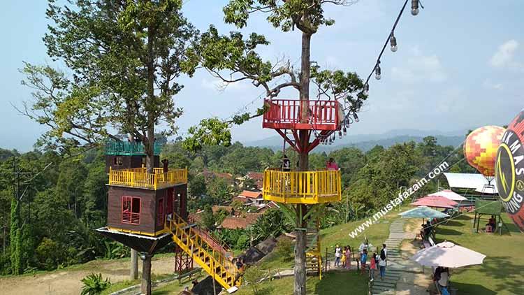 Serunya Wisata ke Puncak Mas Bandar Lampung