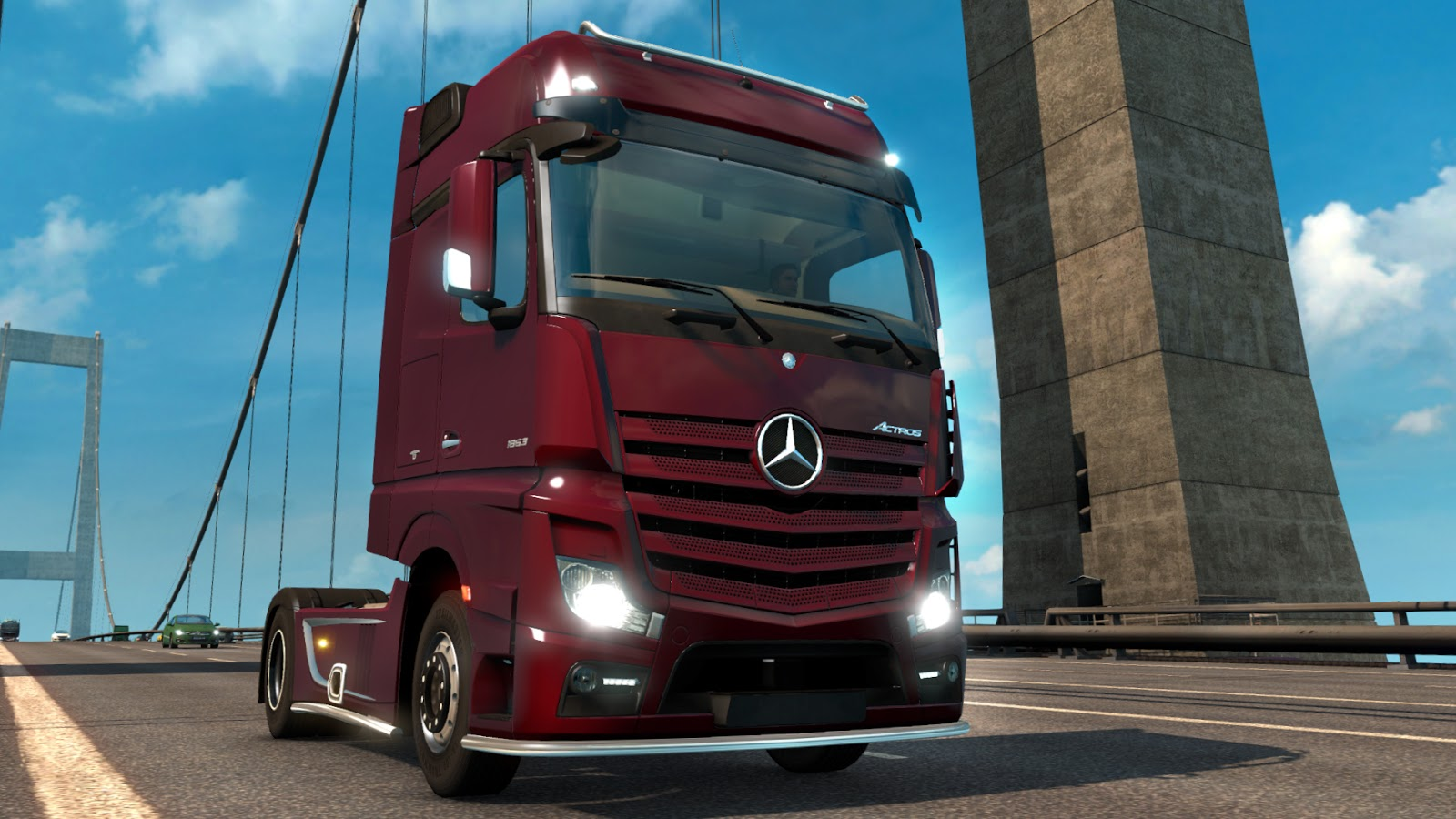Scs Blog 118 Open Beta Featuring Mercedes Benz New Actros Wiring Diagram