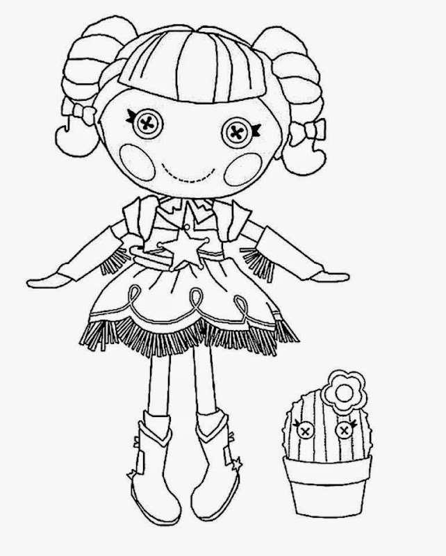 lalaloopsy coloring pages nick jr - photo#24