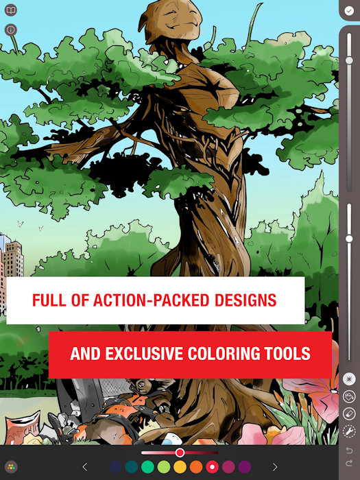 MARVEL: COLOR YOUR OWN Invites you to bring your own Unique Style to the Marvel Universe
