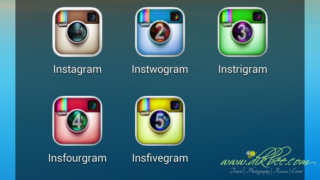 Dua Atau Lebih Akaun Instagram Dalam Satu Telefon