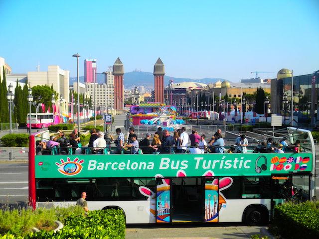 Passeio no Barcelona Bus Turístic
