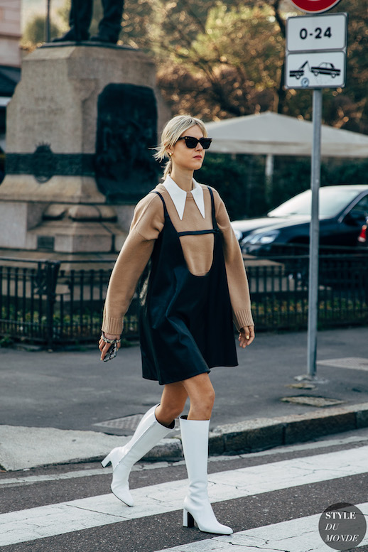 A Sleek Way to Layer Your Sweater This Season – Linda Tol Street Style