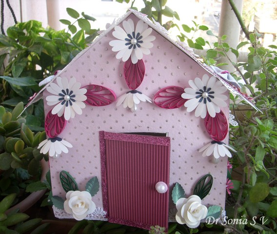 how to make doll house with waste material