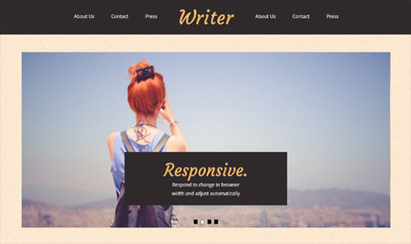 Writer Blogger Templates