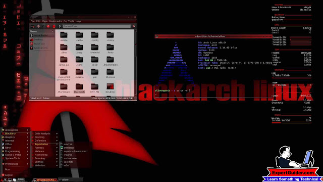BlackArch-Best Operating System-Expertguider.com