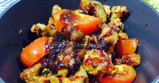 Resepi Ayam Masak Merah Guna Cili Merah - Rungon k