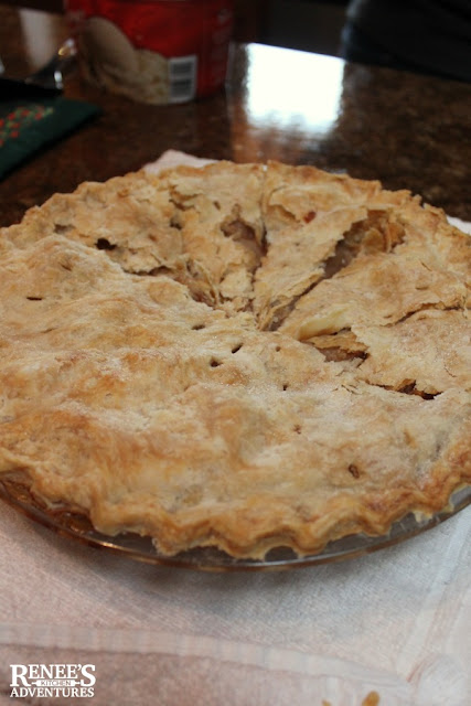 Homemade apple pie at the Shoup Brothers Farm