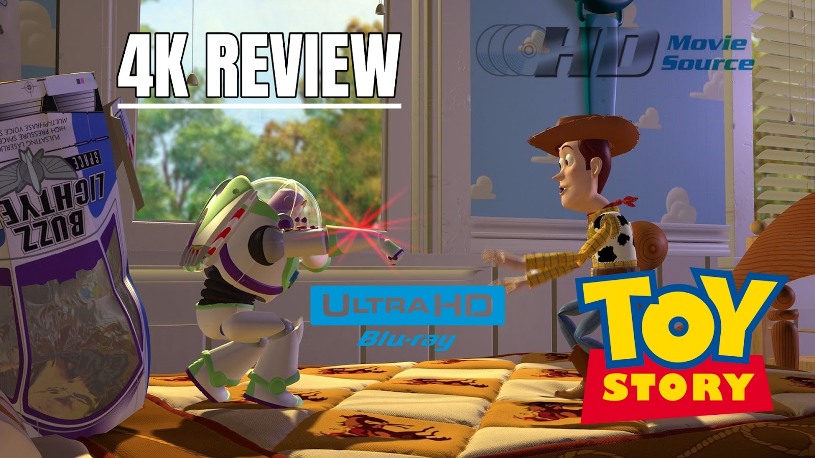 Toy Story 1995 4k Ultra Hd Blu Ray Review The Basics