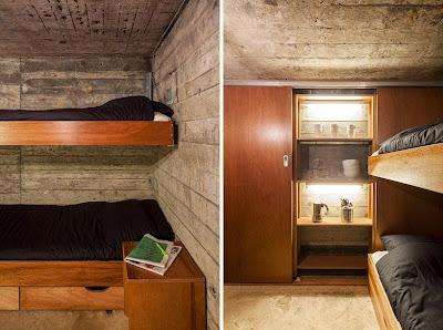 bunker convertido en casa de descanso arquitectura creativa