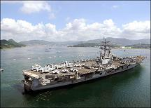 Nuclear-powered aircraft carrier <br>USS Ronald Reagan CVN-76
