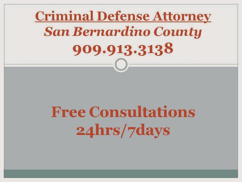 Criminal Defense Attorneys 909 913 3138 Free Consultations