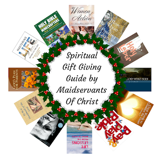 A Christmas gift-giving guide for Christian book lovers.  Forget the gadgets and gizmos and give your friends or loved ones a spiritual gift.