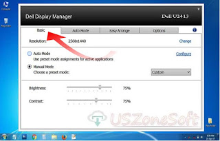 Dell Display Manager is simply freeware Dell monitor application to maintenance, updating or configuration your PC display. Its the best features that configuration your Dell monitor resolution, brightness, contrast etc.
