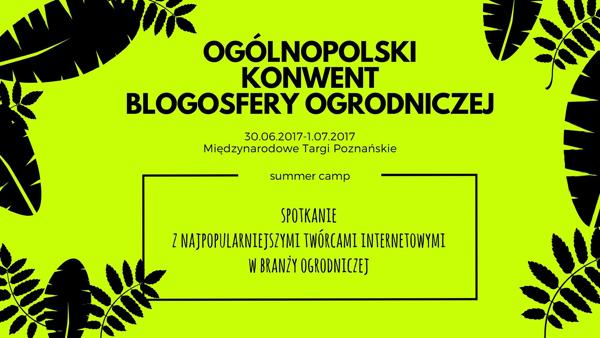 Ogólnopolski Konwent Blogosfery Ogrodniczej
