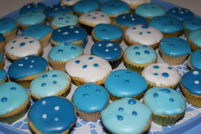 Mini-Eierlikör-Muffins als Party-Mitbringsel