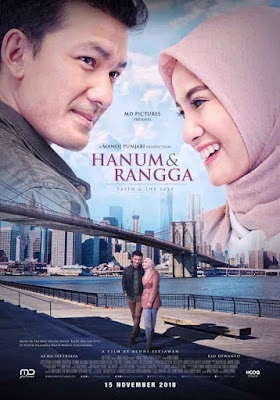 Film Hanum & Rangga: Faith & The City