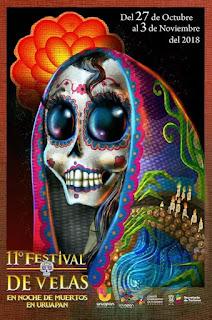 Diseño ganador del cartel Festival de Velas XI