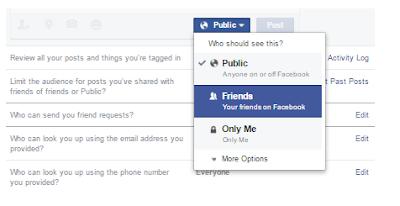 Cara Menyembunyikan Profil Anda Di Facebook