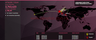 Websites That Display (Cyberattack) Hacking in Real-time