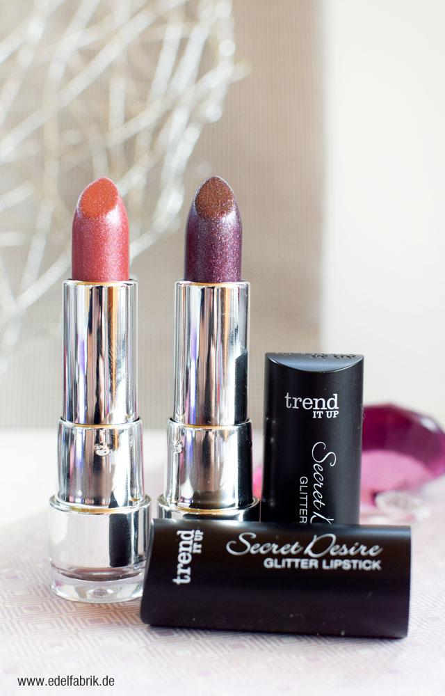 trend IT UP, Secret Desire, Limited Edition, Glitter Lippenstift