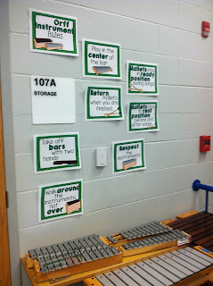 Three things that worked in my music classroom: A singing game, Orff rules, and a recorder freebie!