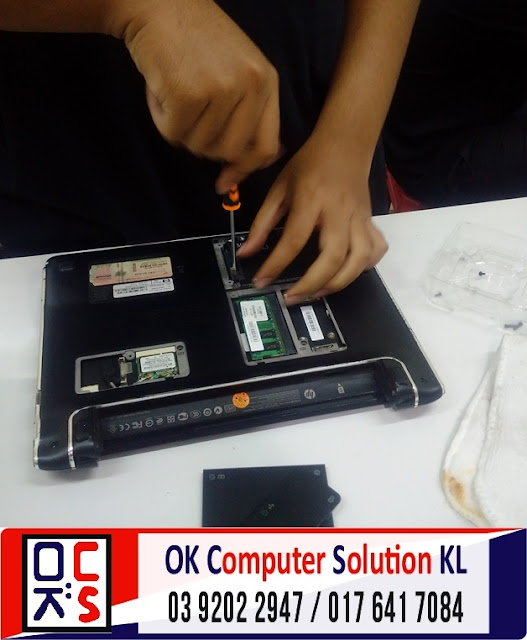 [SOLVED] SERVIS LAPTOP HP PAVILION DV2 | REPAIR LAPTOP CHERAS 1