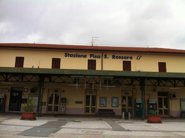 Região próxima à estação S.Rossore em Pisa