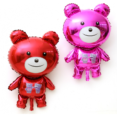 Balon Foil Karakter Teddy Bear