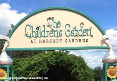 The Children's Garden at Hershey Gardens in Pennsylvania