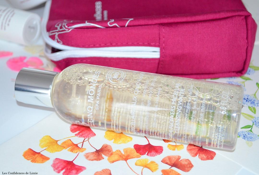 crème hydratante BIO - eau micellaire BIO - baume pour le corps BIO - soins naturels d'exception - soins d'exception - Cinq Mondes - Naturel - Biologique