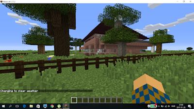 ház minecraftban