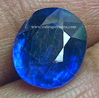 Batu Permata Royal Blue Safir - ZP 260