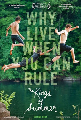 Poster Of Hollywood Film The Kings of Summer (2013) In 300MB Compressed Size PC Movie Free Download At worldfree4u.com