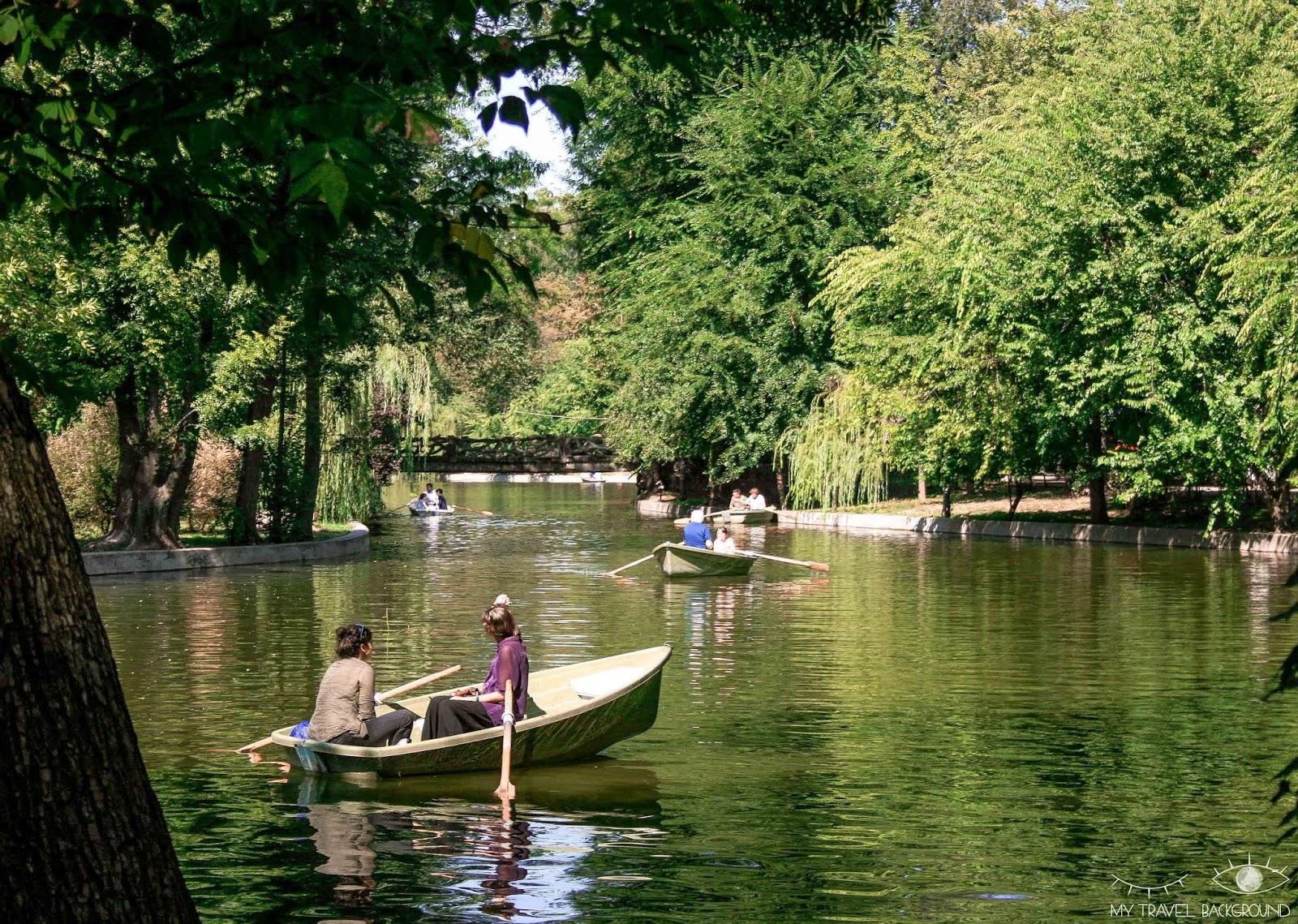 My Travel Background : 3 jours à Bucarest en Roumanie - Parc Cismigiu