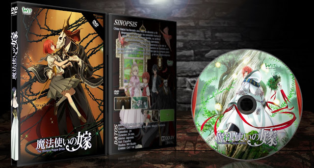 Mahou Tsukai no Yome | Cover DVD | MEGA |